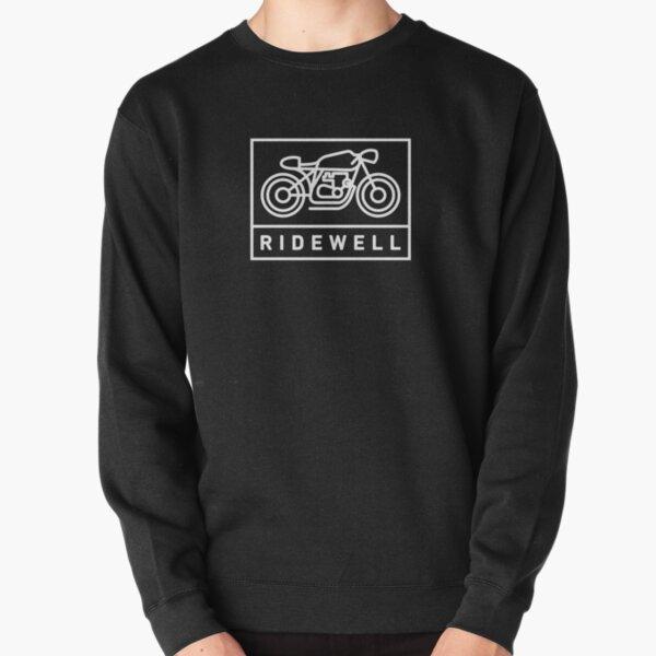 RIDEWELL Logo - White Pullover Sweatshirt