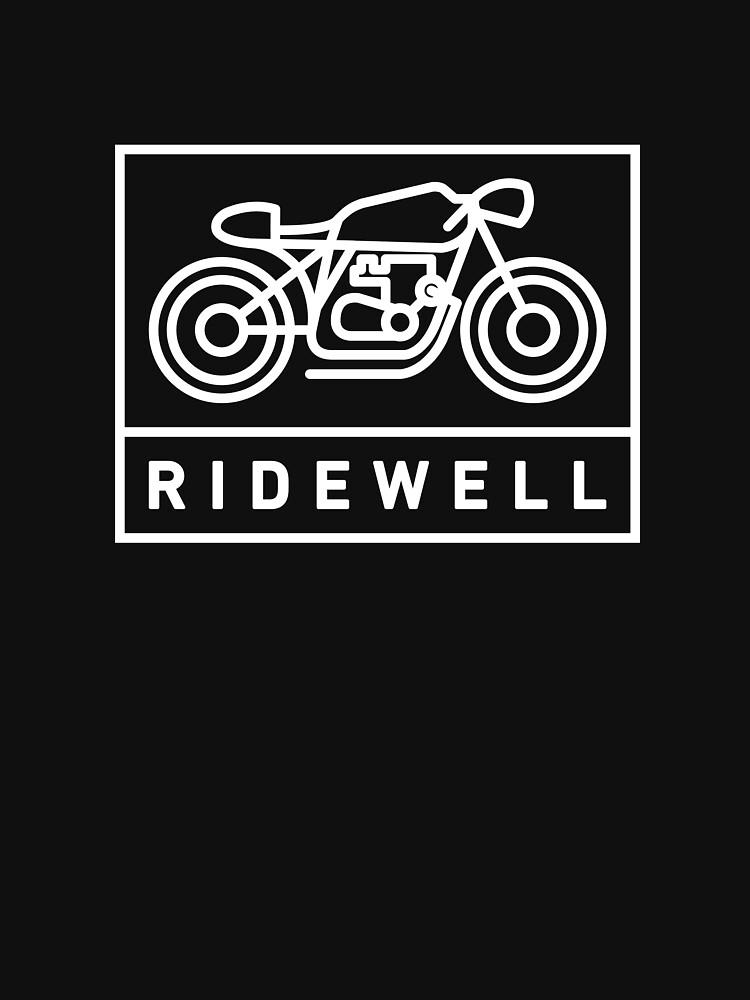 RIDEWELL Logo - White by ridewell
