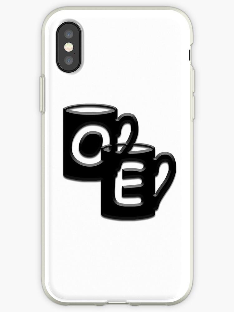 Double Monogram - OE - Coffee Cups by Studio-CFNW11