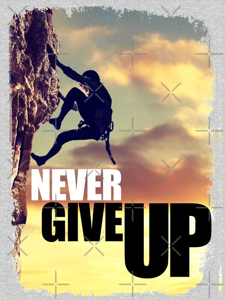 Never Give Up by LeoZitro