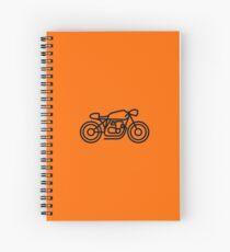 RIDEWELL Moto Logo - The Little Rat Spiral Notebook