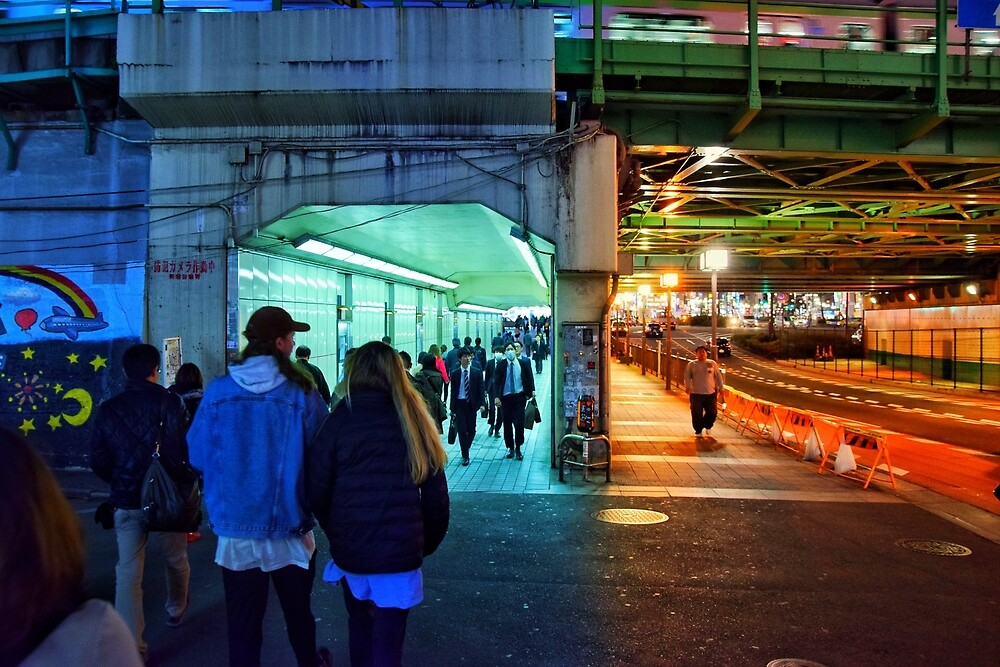 Cold and warm underpass by Mystical-Moon