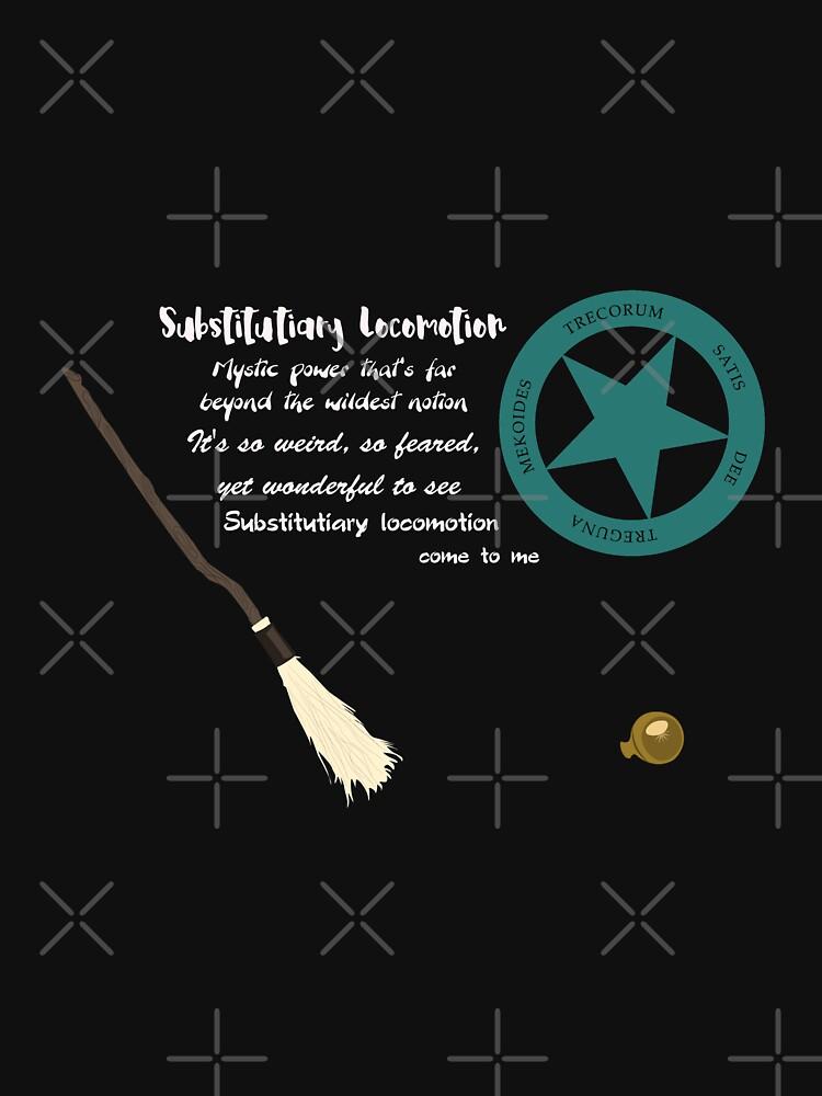 Substitutiary Locomotion by KeiLeela