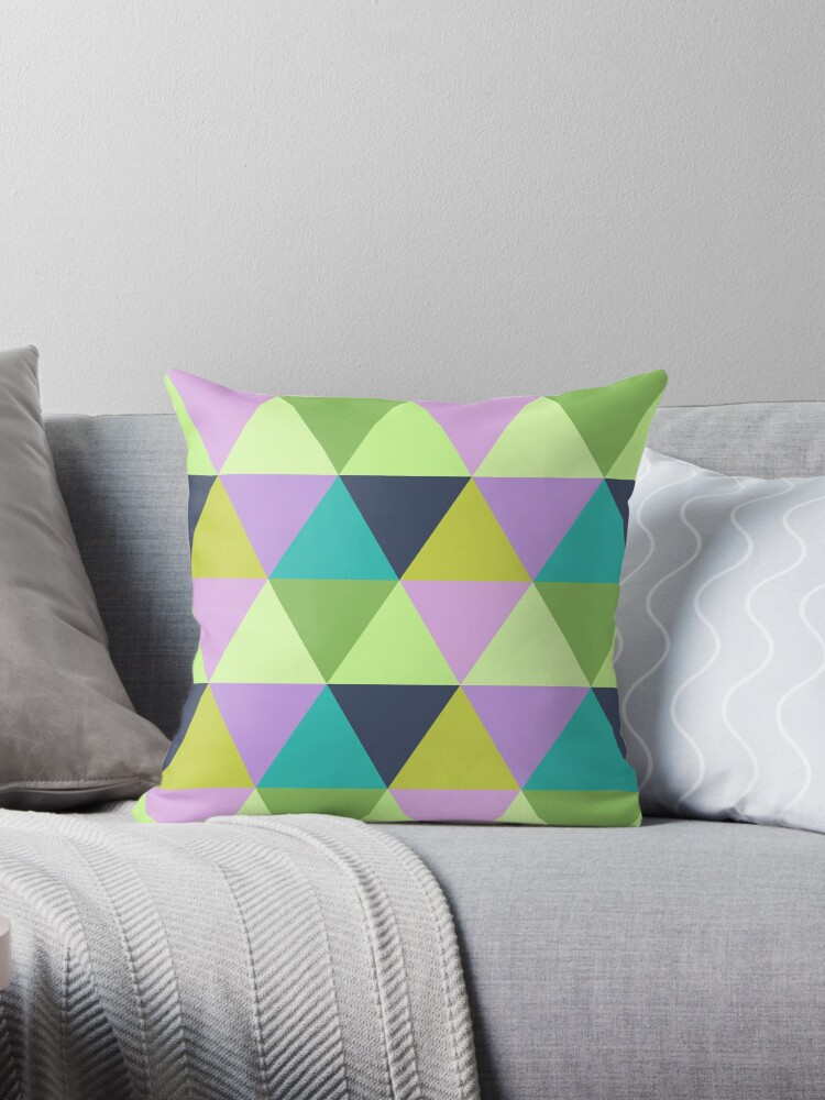 Light harlequin pastel quilt pattern by aapshop