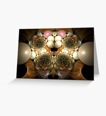 Bed of Pearls Greeting Card