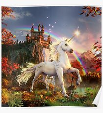 Unicorn of the evening star Poster
