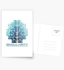 Singularity on White Postcards