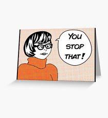 Velma Greeting Card