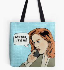 Pop Scully Tote Bag