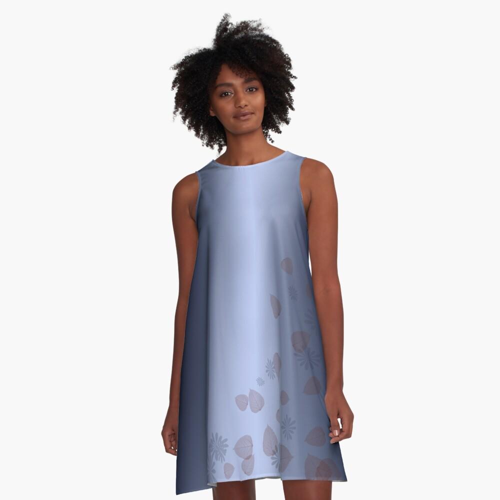 blue dream A-Line Dress Front
