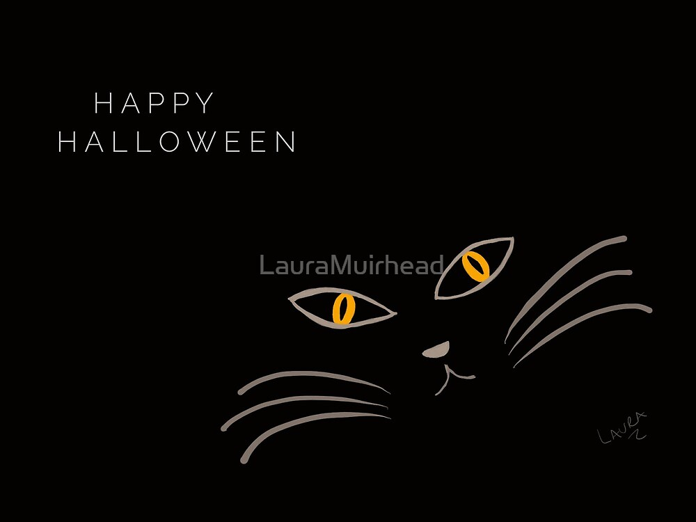 Halloween Cat by LauraMuirhead