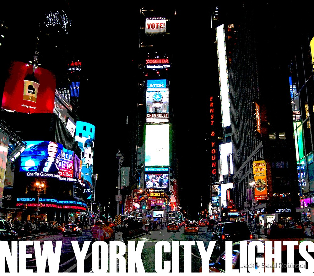 NYC COVER by Jackie Saad Robinson