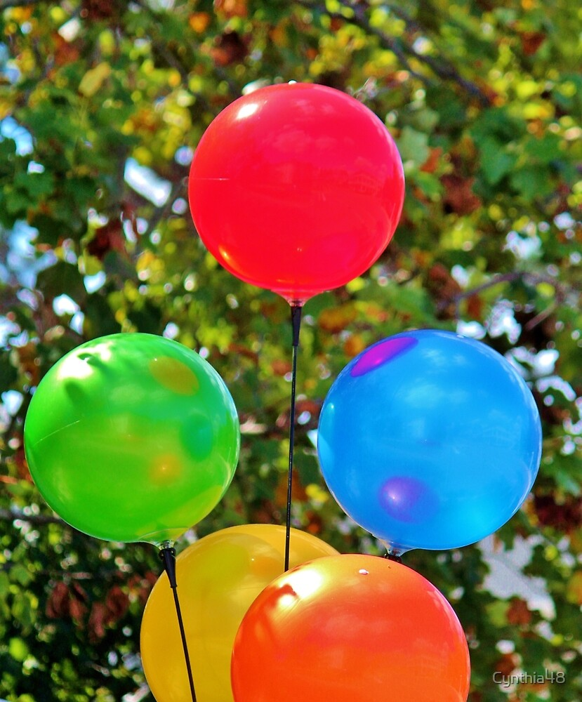 Party Balloons by Cynthia48