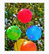 Party Balloons Photographic Print