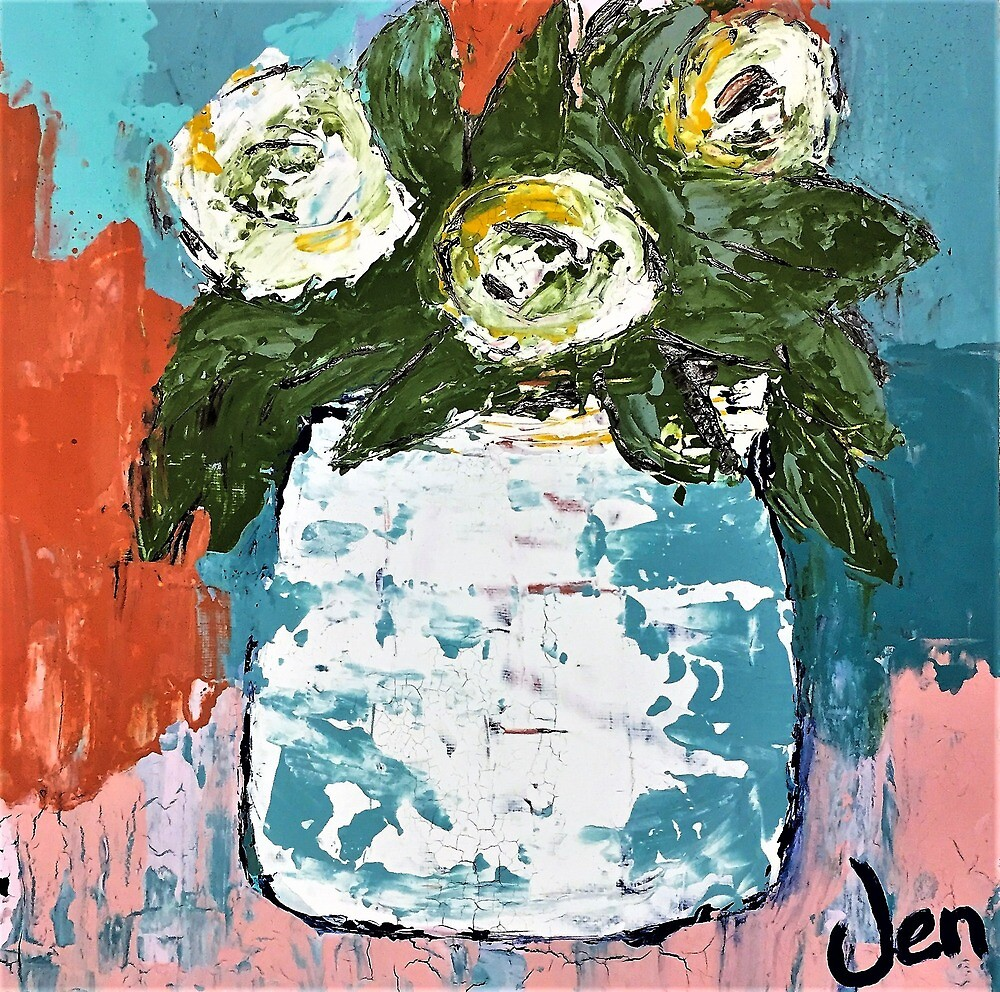 """""""A Little Peony"""" by Jennevelle"""