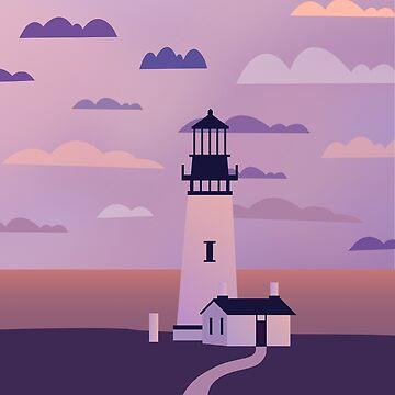 Lighthouse by indigoflame