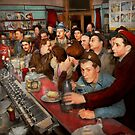 Cafe - Midnight Munchies 1943 by Michael Savad