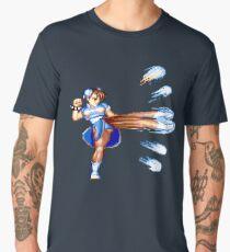 CHUN LI ATTACKS Men's Premium T-Shirt