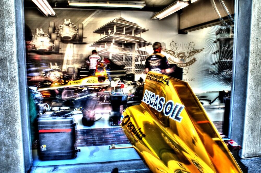 James Hinchcliffe Indy Garage by JoshWilliamsph