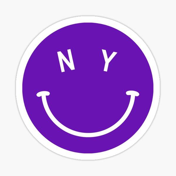 NYU Happy Sticker