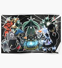 The Ultra Beasts Squad! Poster