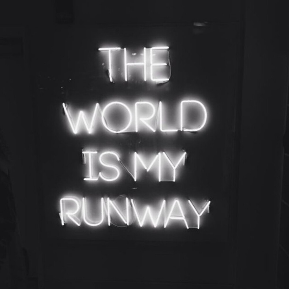 the world is my runway by ericleeart