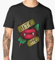 Get Bit or Bite Back! Men's Premium T-Shirt