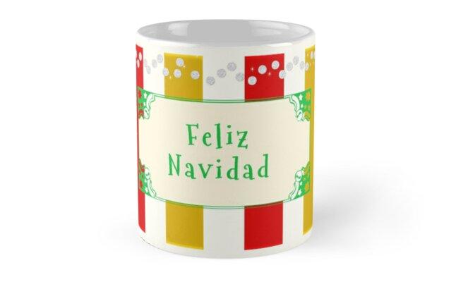 Feliz Navidad Antique by Zampadoro