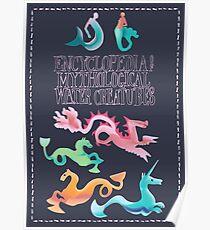 Encyclopaedia of Mythological Sea Creatures Poster