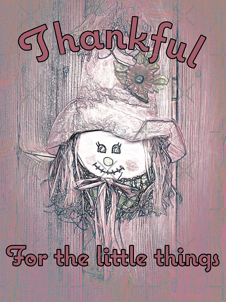 Friendly Face - Thankful by Leslie Montgomery