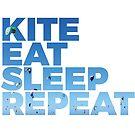 Kite, Eat, Sleep, Repeat von wakeupstoked