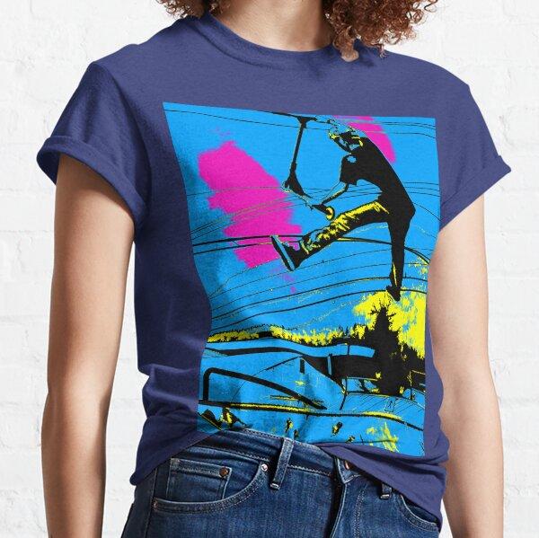 Tailgating - Stunt Scooter Tricks Classic T-Shirt