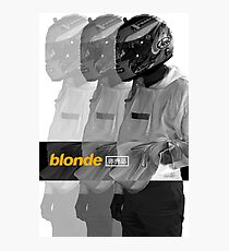 Frank Ocean Blonde Poster Photographic Print