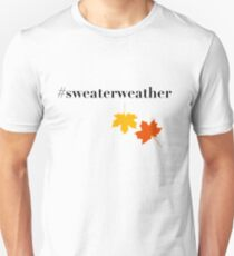 Sweater Weather Leaf Fall T-Shirt