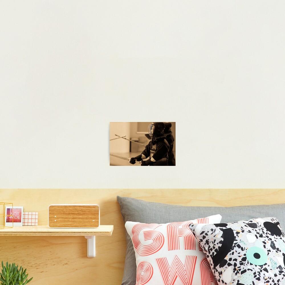 Kendo Lineup Photographic Print