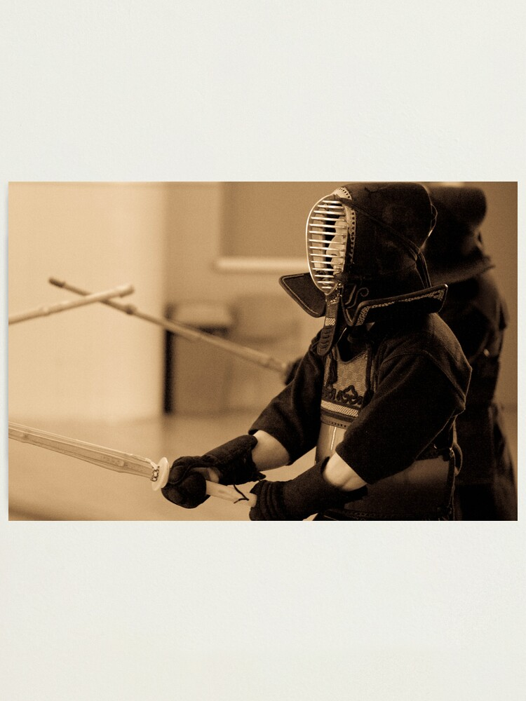 Alternate view of Kendo Lineup Photographic Print