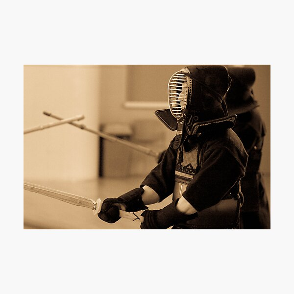 Kendo Lineup Photographic Print