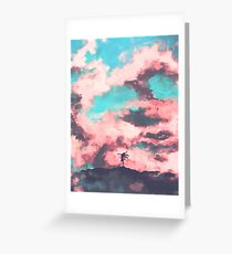 Goddess of the Skies Greeting Card