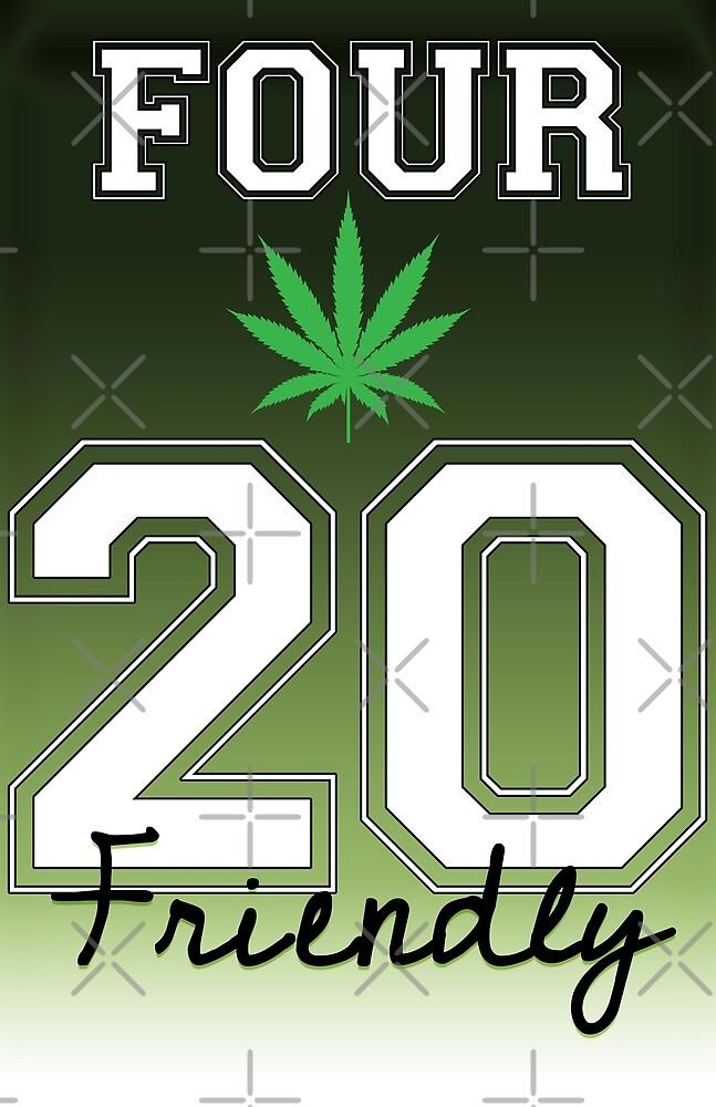 Cannabis - Four Twenty Friendly by jdamelio