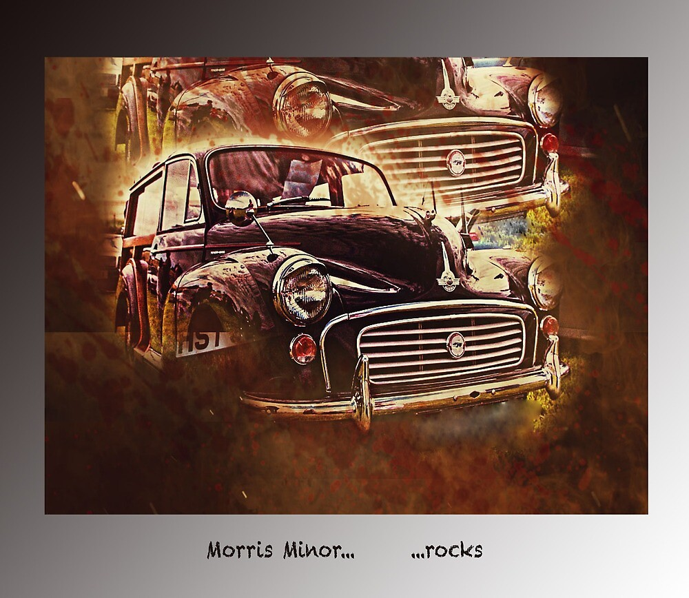 Morris Minor rocks by Paeppchen