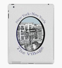 NYC-Name this lower Manhattan intersection? iPad Case/Skin