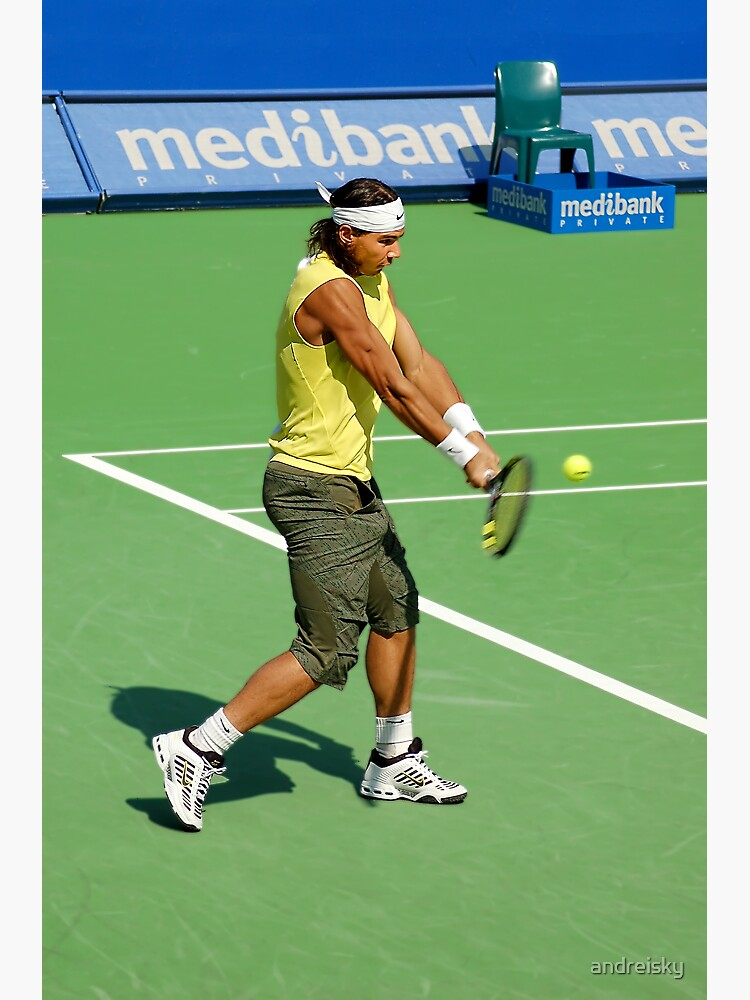 Backhand (Rafael Nadal) by andreisky
