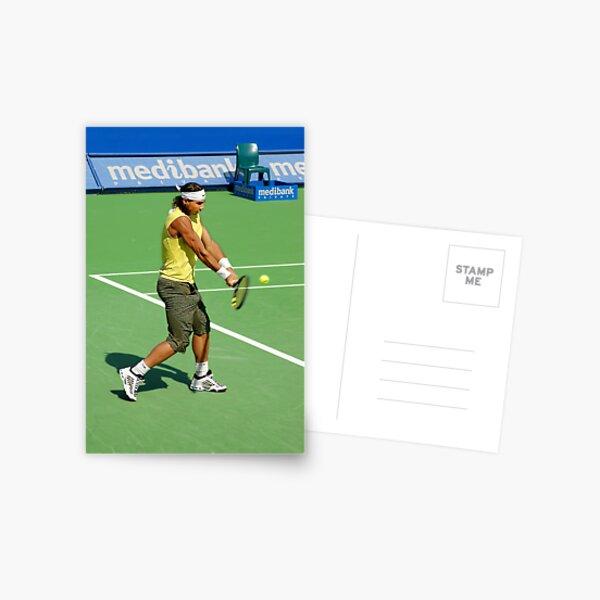 Backhand (Rafael Nadal) Postcard