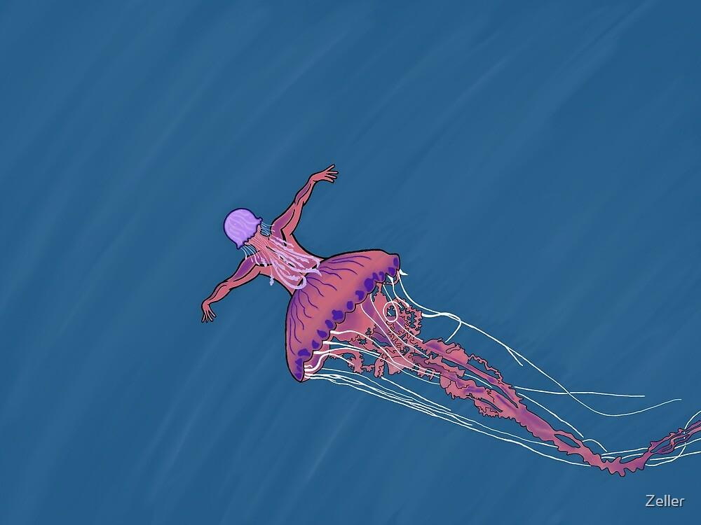 Jellyfish Mermaid  by Zeller