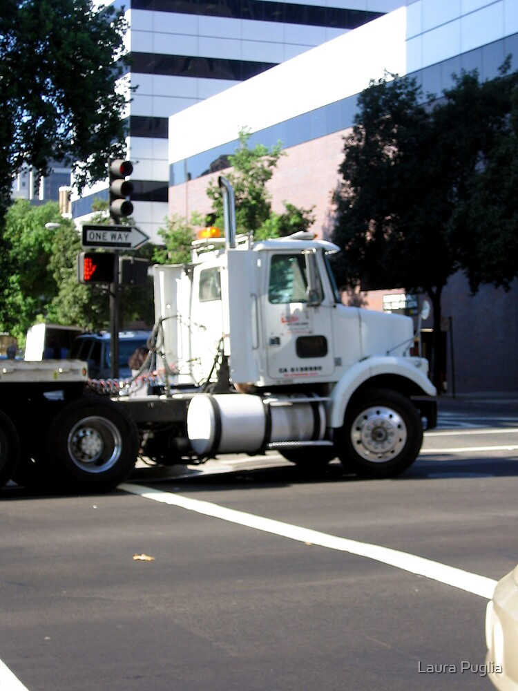Stalled Flatbed by Laura Puglia