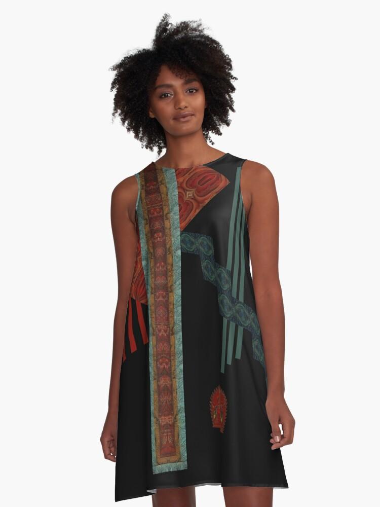 Kurukulla by Vaatekaappi A-Line Dress Front