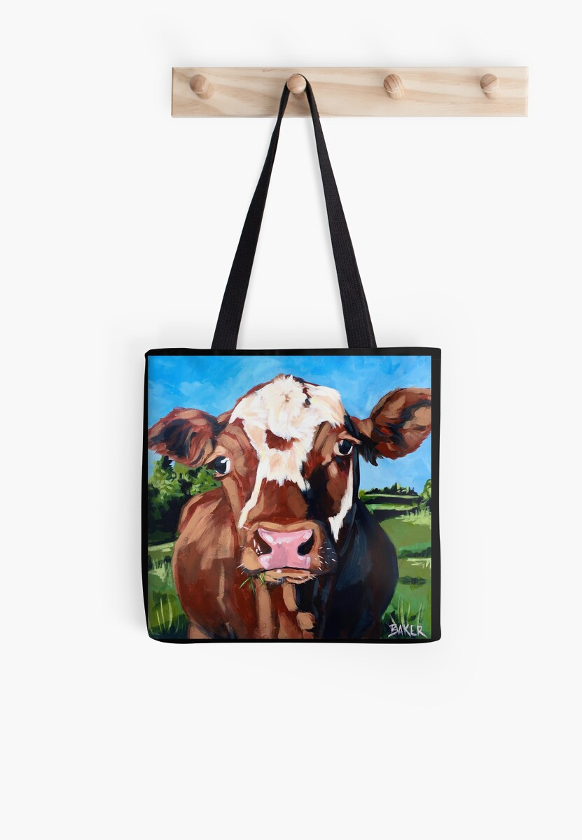 Henry the Hereford Cow by ThePinkPinecone