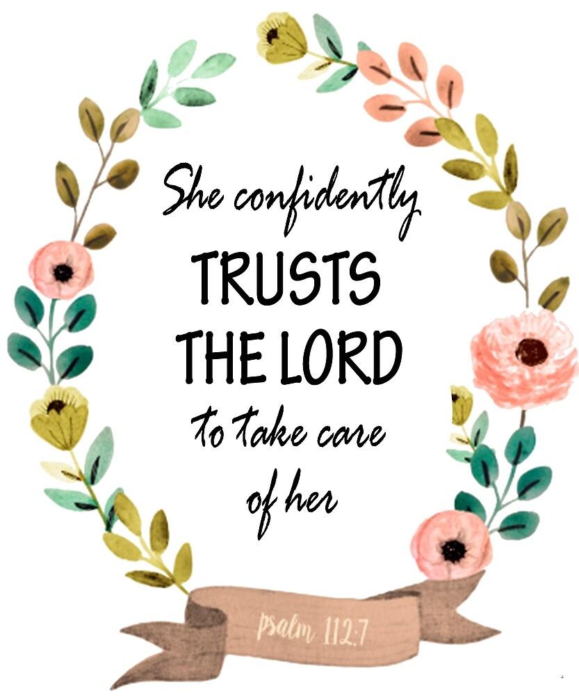 Psalm 112:7 Bible Verse by Rolando Calderon