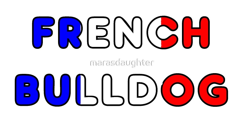 french bulldog flag in name by marasdaughter