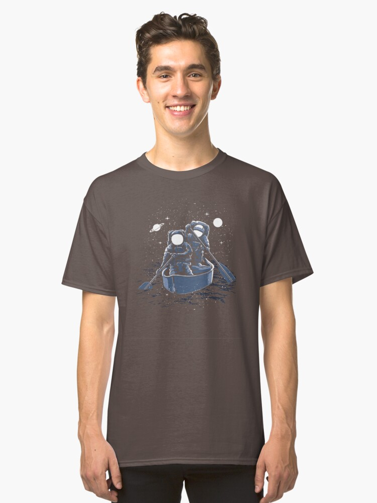 Across the galaxy Classic T-Shirt Front